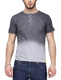 Campus Sutra Men Henley T-Shirt