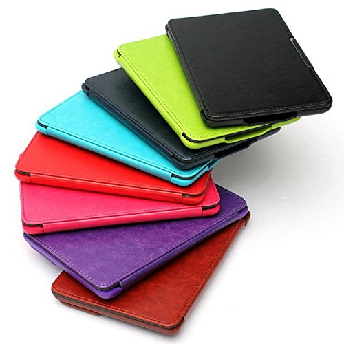 Doradus Cas stand de cuir magnétique couvercle avec stylet pour paperwhite Kindle