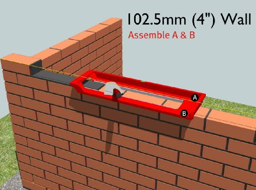 how to use a bable bricklaying