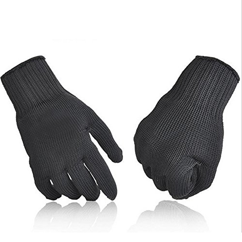 Webetop Stainless Steel Wire Hands Protective Cut and Slash Resistant Anti-stab Gloves (Puncture Proof Work Gloves compare prices)