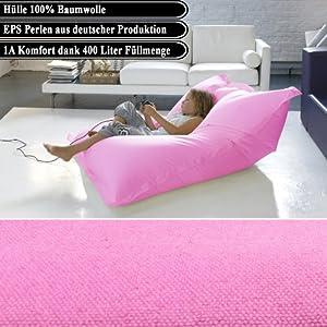 suchen xxl luxus fat sitzsack lounge bodenkissen. Black Bedroom Furniture Sets. Home Design Ideas