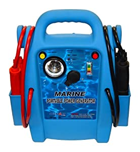 Allstart Tools 556 Marine Battery Jump Starter with AC Inverter from Cal-Van Tools