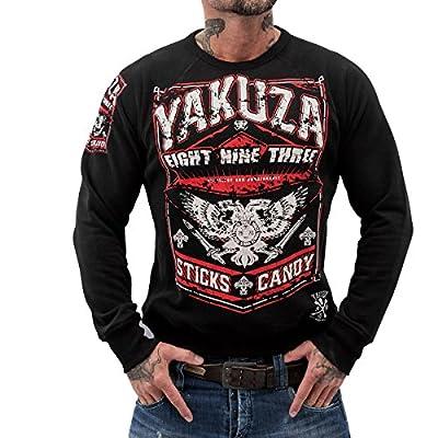 Yakuza ORIGINAL Sweatshirt PB 625 - schwarz