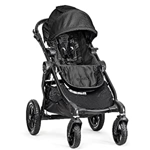 Baby Jogger City Select Single Stroller 2014 (Black w Black Frame) by BaJogger