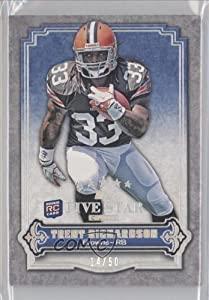 Trent Richardson #14 50 Cleveland Browns (Trading Card) 2012 Topps Five Star Club... by Topps Five Star Club