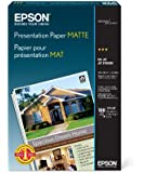 Epson Presentation Paper MATTE (13x19 Inches, 100 Sheets) (S041069)