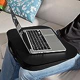 SoBuy Laptop-Schoßtablett, Notebookablage, Betttisch, schwarz, FBT28-SCH (Schwarz)