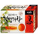 Roasted Cassia Seed Tea 40 Tea bags, Vision Korean Herbs
