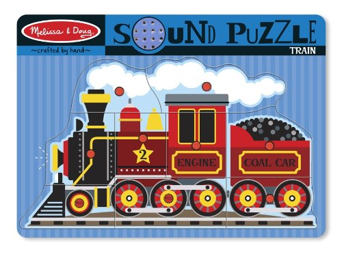 51dszW7Z HL Cheap  Melissa & Doug Train Sound Puzzle