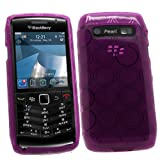 SAMRICK - Blackberry 9105 Pearl 3G - Hydro Gel Protective Case - Purple