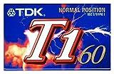 TDK カセットテープ   T1   60分 ノーマル/TYPEⅠ