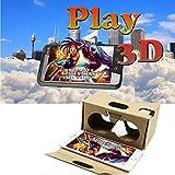Iron Hammer®google Cardboard 3d Glasses,google Cardboard for Iphone,virtual Reality Phone 3d Movies for Iphone 6s/iphone 6 Plus/iphone 5s/iphone 5c/iphone 5 Samsung Galaxy S5/s6