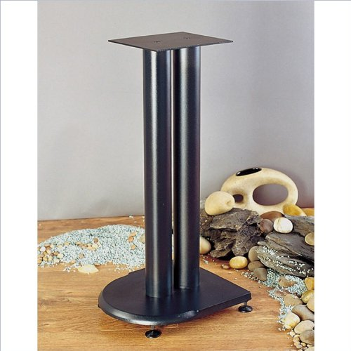 "Vti Uf Series Speaker Stands Pair In Black - 19"" Height"
