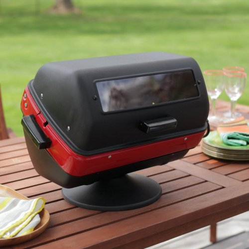 Meco Meco Tabletop Electric Grill, Black, Metal, 200 Sq. In.