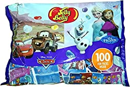 Jelly Belly Beans 100 Individually Packaged Fun Packs