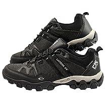 Latitude 64 Chain Wear T-Link Disc Golf Shoe - Black/Black - Size 10.0