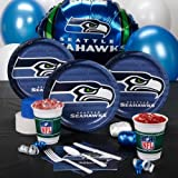 Seattle Seahawks Standard Party Kit for 8 at Amazon.com
