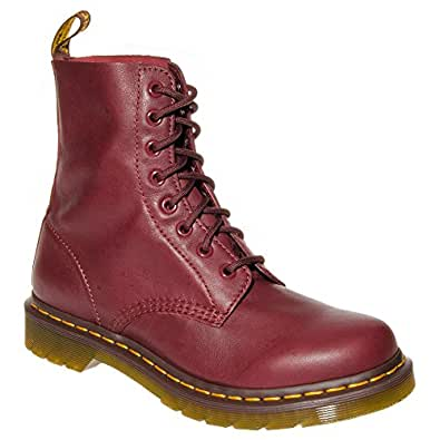 .com: Dr Martens Unisex-adults Pascal Cherry Red Boots - 6 US: Shoes