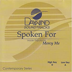 Spoken For [Accompaniment/Performance Track]