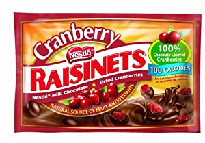 Raisinets Cranberry, .81-Ounce Bags (Pack of 24)