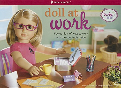 Doll at Work: Play Out Lots of Ways to Work With the Cool Tools Inside!
