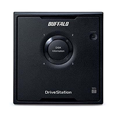 Buffalo DriveStation Quad USB 3.0 4-Drive 8 TB Desktop DAS (HD-QH8TU3R5)