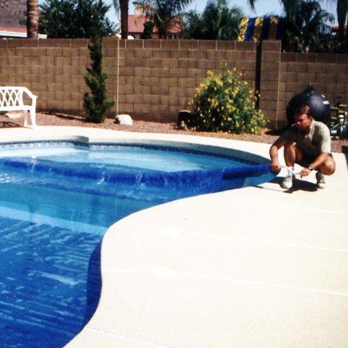 Solar roller extends cover life pays for itself rolls for Garden pool crossword