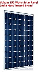 Sukam Solar Panel 150 watt - 12v - Trusted Brand in India..