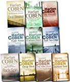 Harlan Coben Harlan Coben Collection 10 Books Set Pack (The Woods, Darkest Fear, One False Move, Back spin, Fade away, No second chance, Drop shot, The final detail, Deal breaker, Tell no one