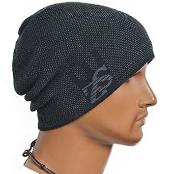 cool roll knit beanie rectangular winter skullcap top