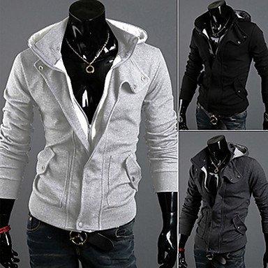 Xs Fashion Thicken Fleeces Hoodie , Black , Xxxl