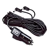 EDO Tech® 11' Long Cable Car Charger Adapter for RCA DRC6272 DRC6272E DRC97283 DRC6296, Mustek PD77B DP77A