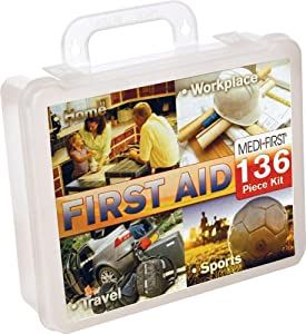Medique 40136 Multi-Purpose First Aid Kit, 136-Piece by Medique