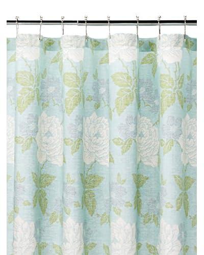 Isadora Shower Curtain, Duck Blue