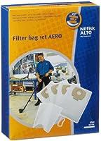 NILFISK 302002404, Confezione 4 Sacchetti per aspirapolvere con 1 Filtro