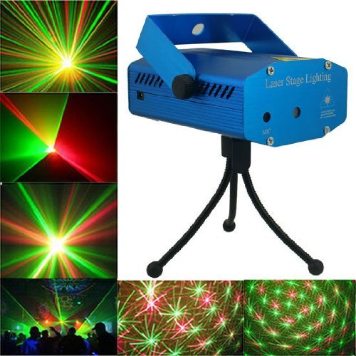 Happiness At Home® Led Mini Stage Light Voice Control Projector Party Stage Bar Pub Club Led Mini Stage Light Projector Club Dj Disco Bar Stage Light