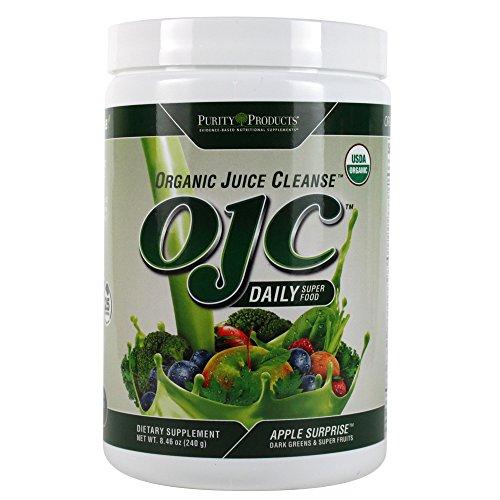 Certified Organic Juice Cleanse (OJC) 8.46oz - Apple Surprise - 30 Day Supply (Organic Juice Cleanse compare prices)