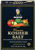 Morton Coarse Kosher Salt Box, 1 Pound (Pack of 12)