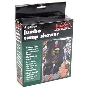 Texsport Jumbo Camp Shower, 5 Gal
