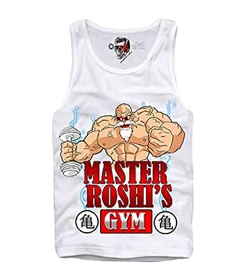 E1syndicate Tank Top Shirt Master Roshi Dragonball Z Bodybuilding S/m/l/xl