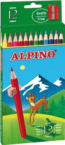 Alpino - Caja de 12 lápices de colores (Masats 010)