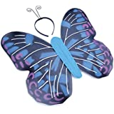 Blue Butterfly Kit & Antennae