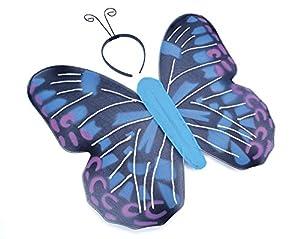 Blue Butterfly Kit & Antennae
