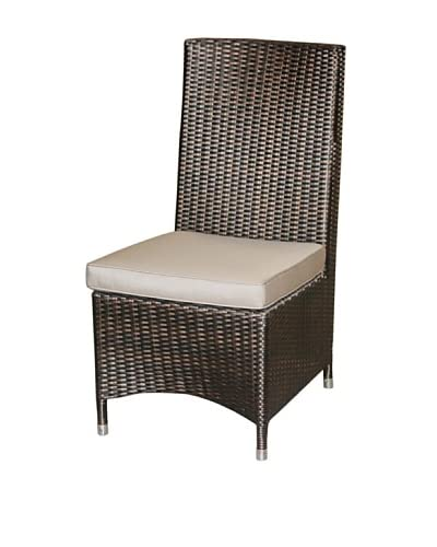 Jeffan Outdoor Cosy Side Chair, Grey