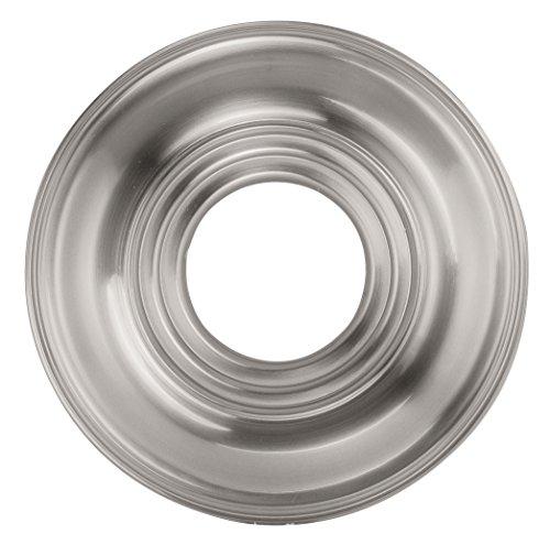 Livex Lighting 8209-91 Ceiling Medallion, Brushed Nickel (Brushed Nickel Ceiling Medallion compare prices)