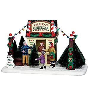 Amazon.com: Coventry Cove by Lemax Christmas Village Accessory, Fred's