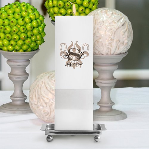 Royal Allure Unity Candle With Stand Ra15