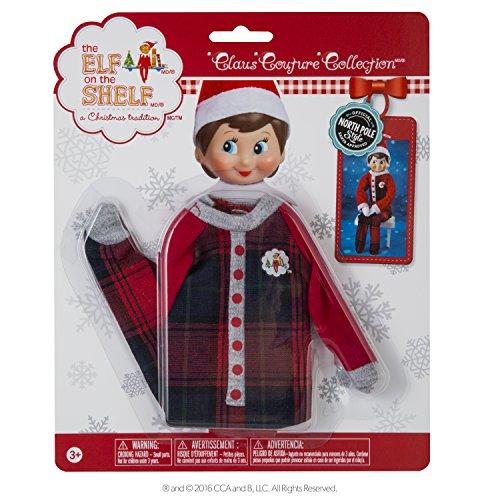 Elf On The Shelf Claus Couture Fa La La Footies Pajamas