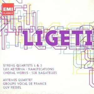 Quatuors A Cordes N°1&2 - Ramifications Pour 12 Instruments A Cordes - Six Bagatelles Pour Quintette