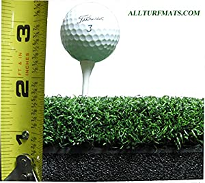 "10"" x 15"" Ultimate Super Tee Golf Plug for the Optishot Golf Mat - Holds A Wooden Tee!"